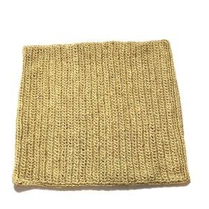 Pottery Barn Straw Pillowcase Rattan Tan Jute